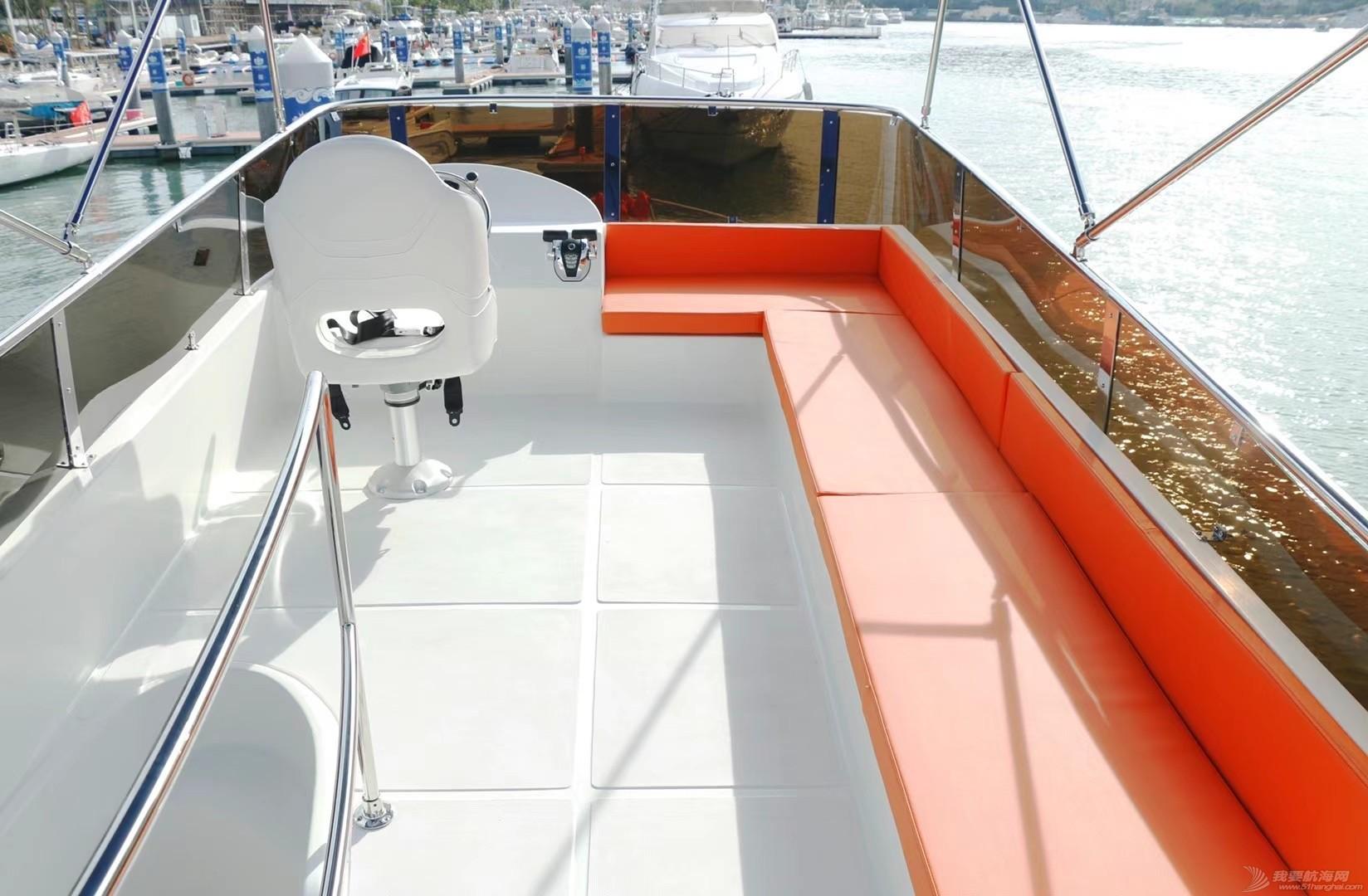 2020年产45尺飞桥游艇出售