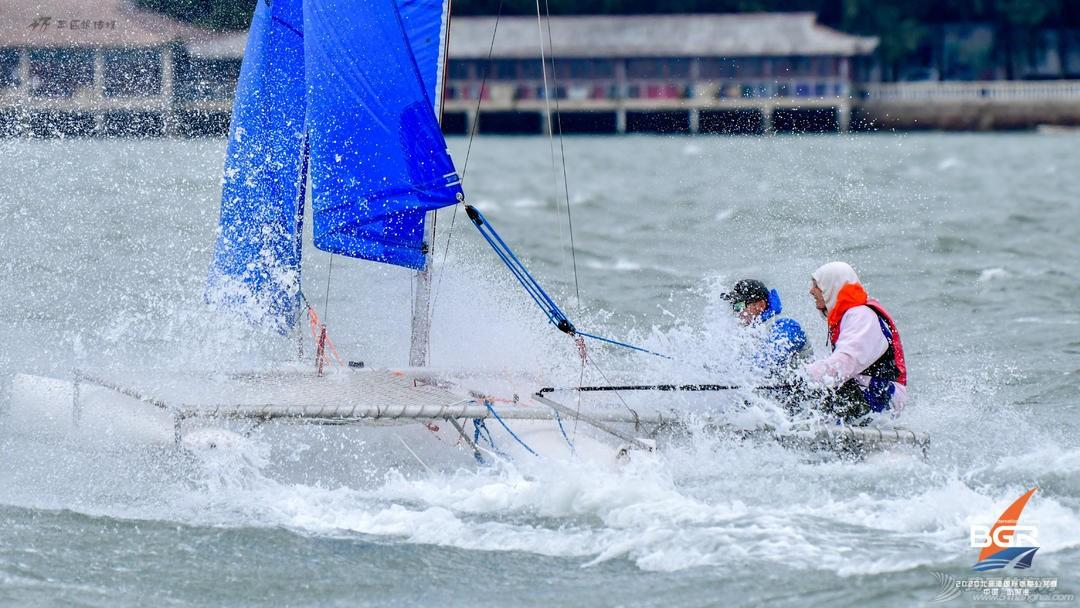 nbsp,广西,帆船,级别,岭南 你若喜欢海  我会一直浪  ——2020北部湾国际帆船公开赛Hobie级别回顾  111012r22366dd08a00l8p
