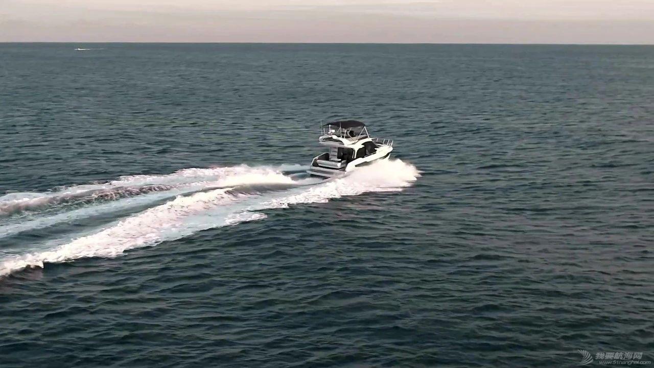 【21年现货】海上变形金刚-双侧甲板可打开的40尺飞桥游艇