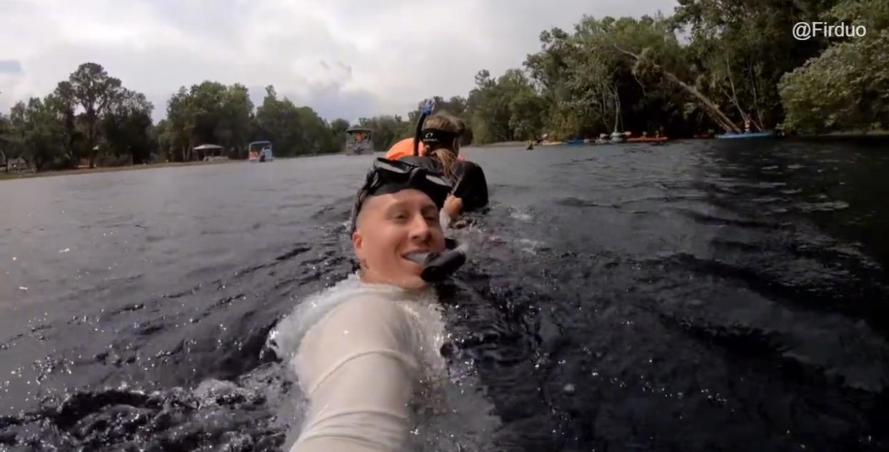 驾驶海豹飞艇在佛罗里达州潜水是一个怎样的体验