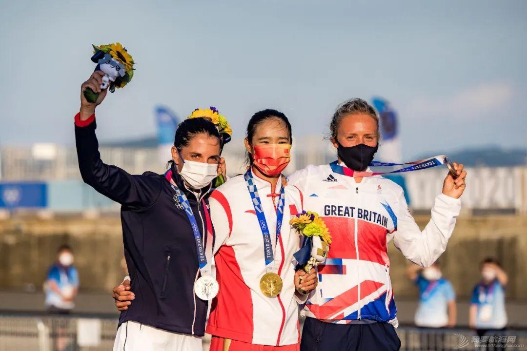 东京奥运会中国女子帆板夺金!男子帆板摘铜创历史!