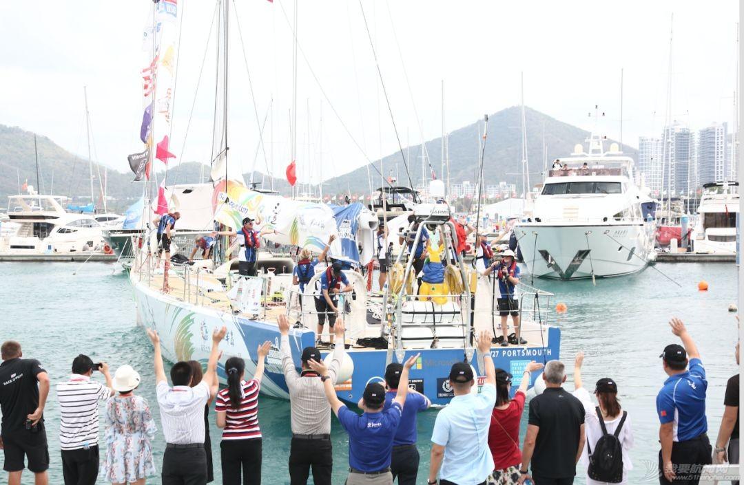 三亚欢送克利伯环球帆船赛船队启程前往青岛w2.jpg