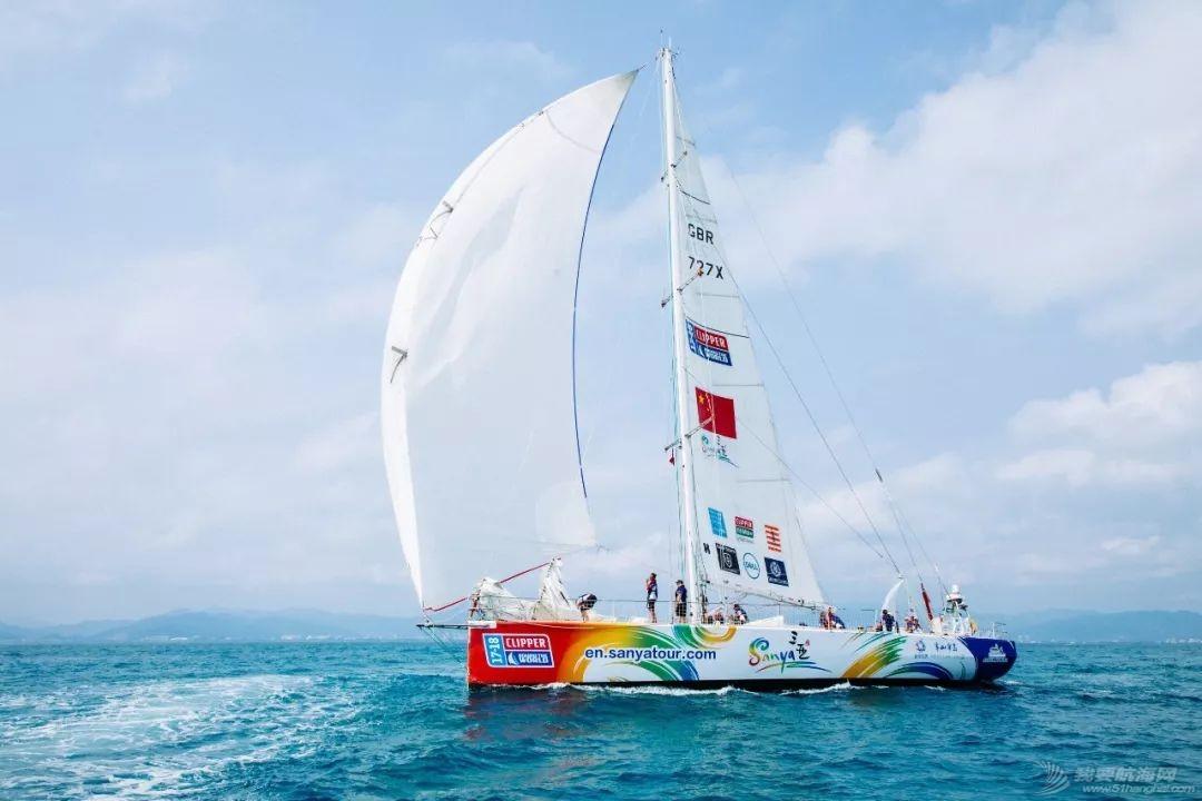 三亚欢送克利伯环球帆船赛船队启程前往青岛w8.jpg