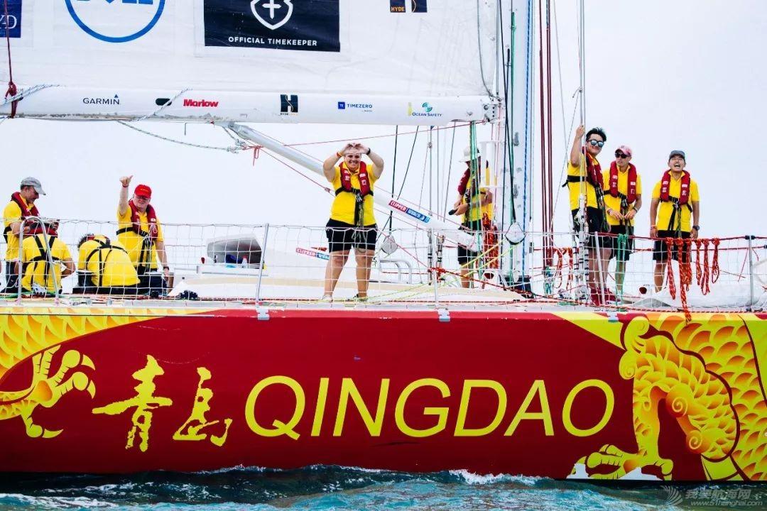 三亚欢送克利伯环球帆船赛船队启程前往青岛w9.jpg