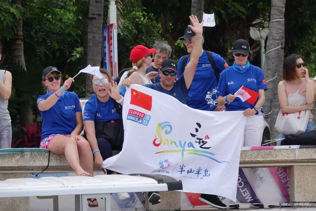 三亚欢送克利伯环球帆船赛船队启程前往青岛w13.jpg