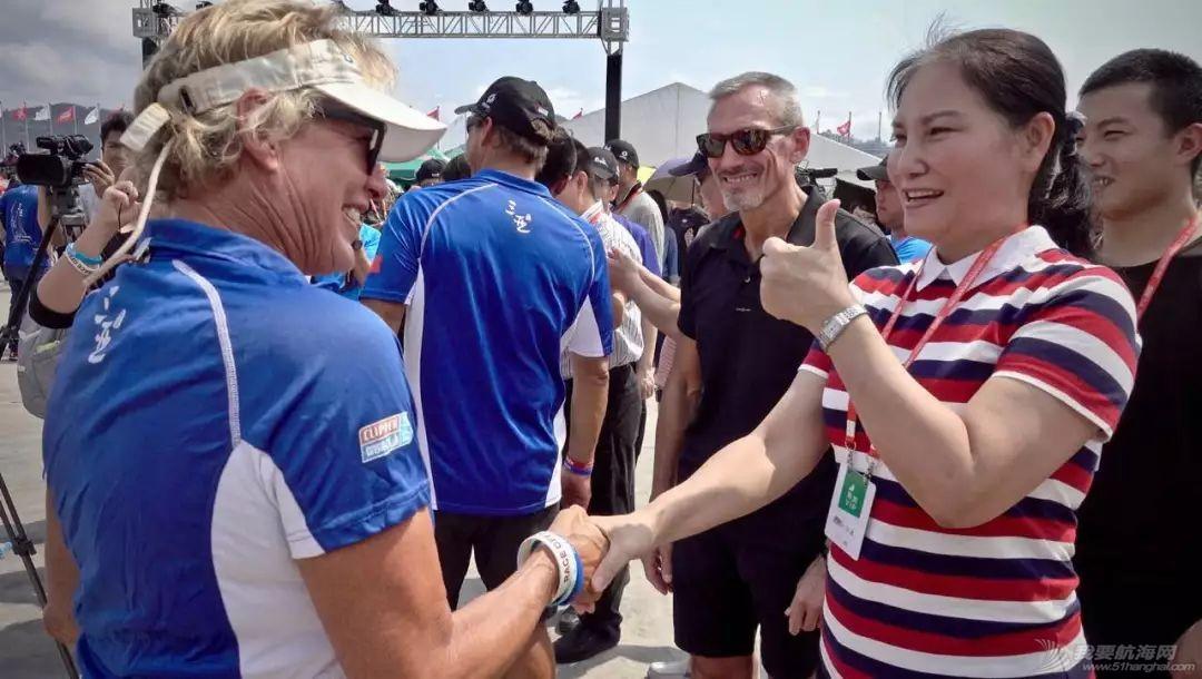 三亚欢送克利伯环球帆船赛船队启程前往青岛w15.jpg
