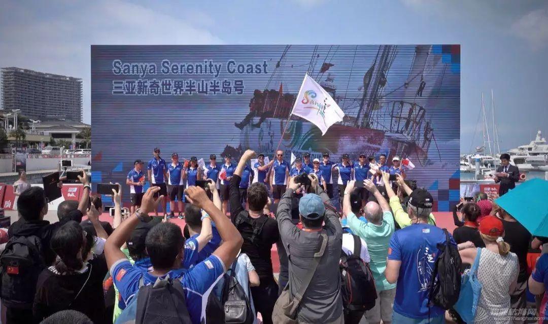 三亚欢送克利伯环球帆船赛船队启程前往青岛w14.jpg