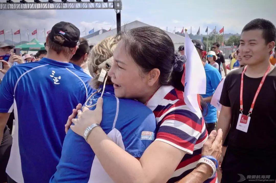 三亚欢送克利伯环球帆船赛船队启程前往青岛w16.jpg