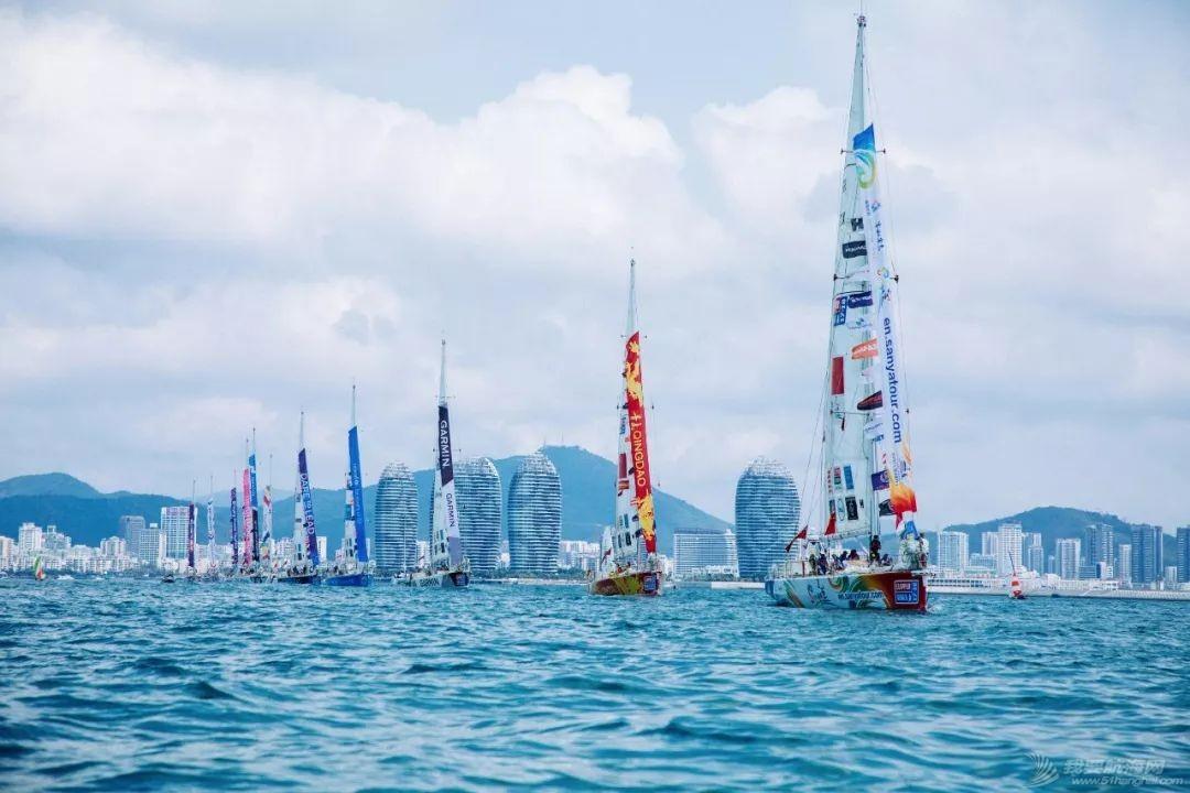 三亚欢送克利伯环球帆船赛船队启程前往青岛w18.jpg