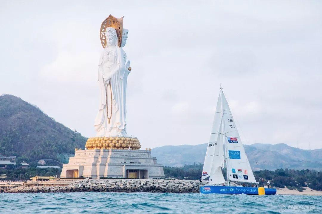 三亚欢送克利伯环球帆船赛船队启程前往青岛w21.jpg