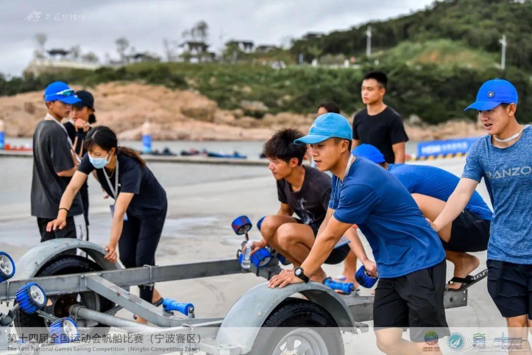 第十四届全运会帆船比赛(宁波赛区)资格赛结束 129名运动员将角逐...w5.jpg