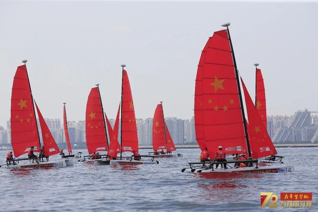 扬帆献礼祖国 2021中国家庭帆船赛秦皇岛站开赛w4.jpg