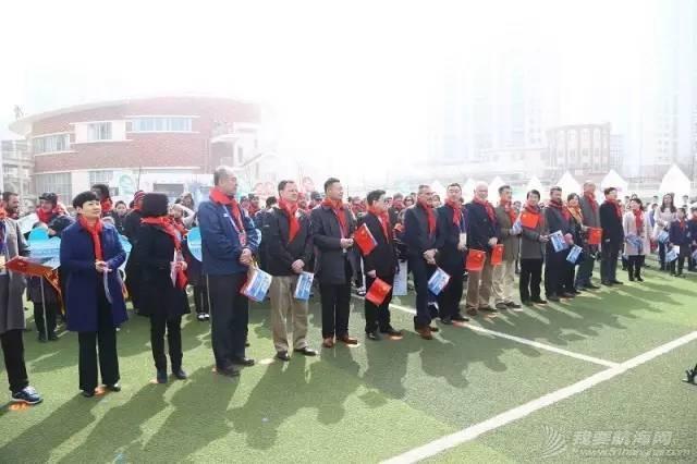 克利伯环球帆船赛青岛站船员走进珠江路小学举行文化交流活动