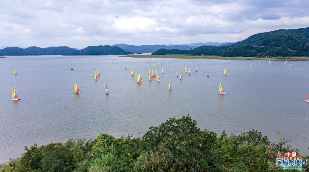 2021中国家庭帆船赛宁波湾站奉化收帆